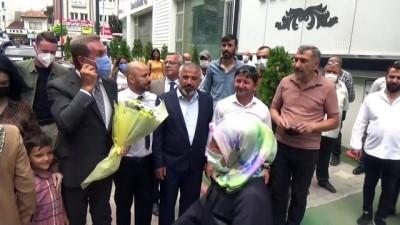 TOKAT - Türkiye Değişim Partisi Genel Başkanı Sarıgül basın toplantısı düzenledi