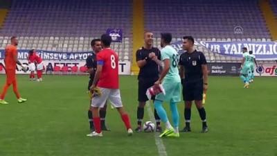 AFYONKARAHİSAR - Hazırlık maçı: Fraport TAV Antalyaspor: 4 - Menemenspor: 1