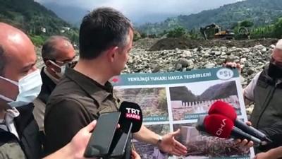 ARTVİN - Pakdemirli: 'Salı günü itibariyle tarımla ilgili, tarımsal üretimle ilgili hasar tespitlerimizi tamamlamış olacağız'