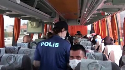 otobus soforu -  İstanbul'da helikopter destekli trafik denetimi böyle görüntülendi