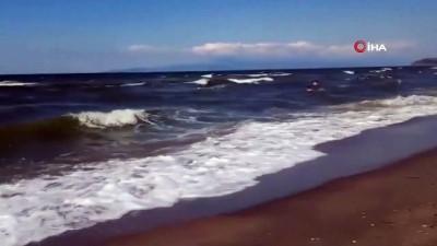 muhalefet -  Mudanya sahillerinde denize girme yasağı uzatıldı