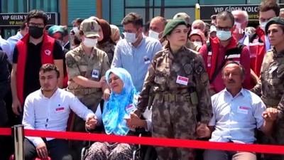 Şehit astsubayın cenazesi memleketi Ordu'ya getirildi