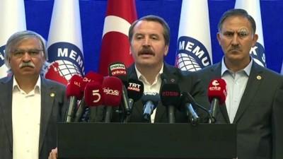 memur - ANKARA - Ali Yalçın: 'Memur maaşlarına 600 lira seyyanen zam yapılmalıdır'