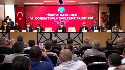 memur - ANKARA - Önder Kahveci: 'Biz bütün olumsuz koşullara rağmen kamu görevlilerinin haklarını korumaya ve geliştirmeye çalışacağız'