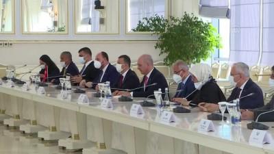 strateji - BAKÜ - Kurtulmuş başkanlığındaki AK Parti heyeti, Azerbaycan Milli Meclis Başkanı Gafarova ile görüştü