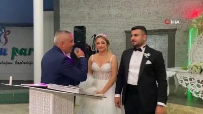 memur -  Bursa'da nikah memuru kendi kızının nikahını kıydı