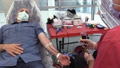 kok hucre -  Manisa CBÜ personeli kan ve kök hücre bağışında bulundu