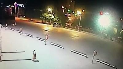 para cezasi -  Otoparkta drift sürücü güvenlik kameralarına yakalandı