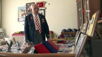 parmak -  87 yaşındaki Kıbrıs gazisi, çıkarma günlerini yeniden yaşadı