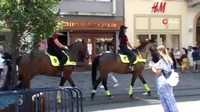 atli polis -  Atlı polislere vatandaş ve turistlerden yoğun ilgi