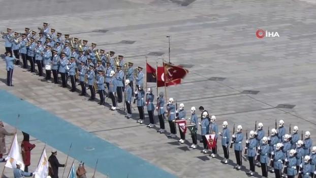 makam araci -  Cumhurbaşkanı Erdoğan, Angola Cumhurbaşkanı Laurenço'yu resmi törenle karşıladı