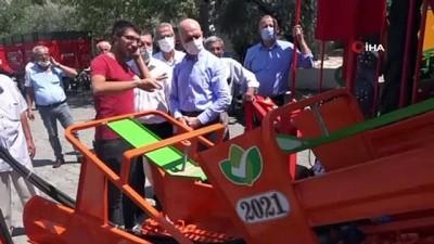 GEKA'dan Beylerbeyi çiftçisine yarım milyonluk ekipman desteği