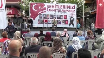 teror saldirisi - İSTANBUL - Güngören'deki patlamada şehit olan vatandaşlar anıldı Videosu