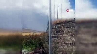 dolu yagisi -  Kars'ta dolu ekili alanlara zarar verdi