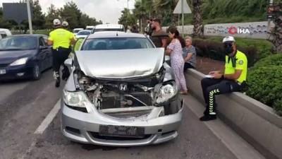 - Samsun'da 4 aracın karıştığı zincirleme kazada 1 polis yaralandı