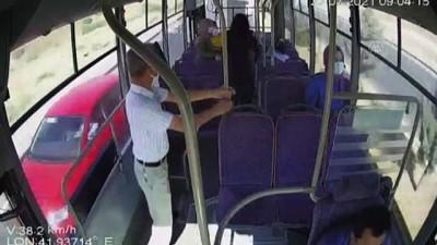 guzergah - SİİRT - Halk otobüsü şoförü, rahatsızlanan kadını güzergah değiştirip hastaneye ulaştırdı