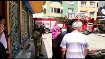 kiz kardes -  Sultangazi'de ocakta unutulan yemek yangına neden oldu