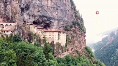 restorasyon -  Sümela Manastırı'nı 3 haftada yaklaşık 30 bin kişi ziyaret etti