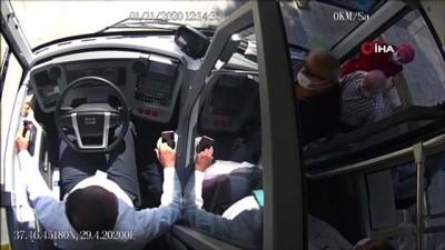 nitelik -  Takdir toplayan şoförlere teşekkür plaketi verildi