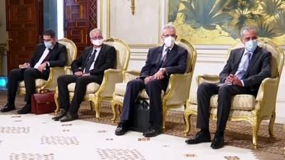 darbe girisimi - TUNUS - Cezayir Dışişleri Bakanı, Tunus'ta Cumhurbaşkanı Said ile görüştü
