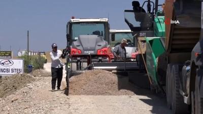guzergah -  - Van Büyükşehir Belediyesinden tatilcileri sevindiren asfalt çalışması