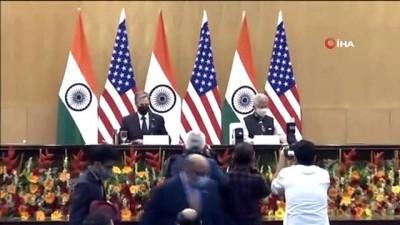 iklim degisikligi -  - ABD Dışişleri Bakanı Blinken'den Hindistan'a ilk resmi ziyaret - Blinken, Hindistanlı mevkiidaşı Jaishankar ile görüştü