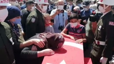 siyasi parti -  Aksaraylı şehit son yolculuğuna uğurlandı