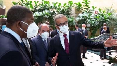 Angola Cumhurbaşkanı Lourenço'dan SSB'ye ziyaret
