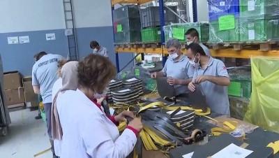 savunma sanayi - ANKARA - Güvenlik güçlerini seramik zırh koruyacak (2)