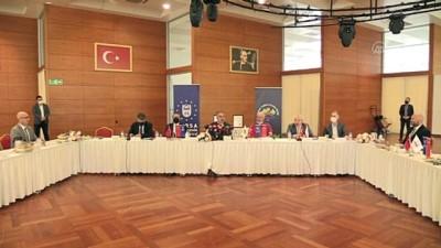 buyuksehir belediyesi - BURSA - Türkiye Sağlıklı Kentler Birliği 2. yıl değerlendirme toplantısı yapıldı