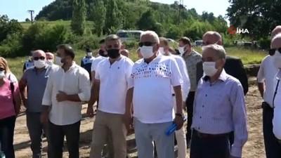 Ereğli'de trafiği rahatlatacak alternatif yol tanıtıldı