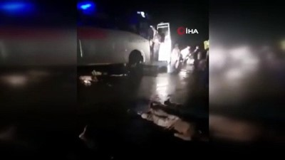 kurtarma operasyonu -  - Hindistan'da katliam gibi kaza: En az 18 ölü