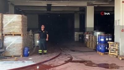 kimya -  Kimya fabrikasının deposunda korkutan yangın