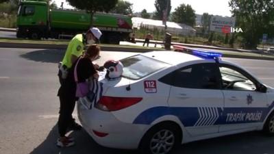 para cezasi -  Maltepe'de motosiklet sürücüleri denetlendi