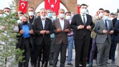 siyasi parti -  -Şehit Binbaşı Arslan Kulaksız Malazgirt'te anıldı