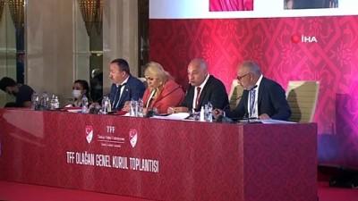 genel kurul - TFF Olağan Genel Kurul Toplantısı'nda 16'ncı madde tekrar gündemde