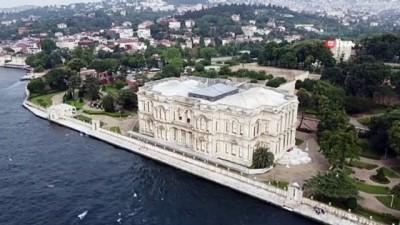 atmosfer -  Beylerbeyi Sarayı'nda ziyarete açılan 113 metrelik rıhtım havadan görüntülendi
