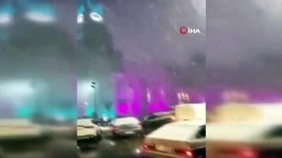 dolu yagisi -  - Brezilya'da sıcaklık eksi 10 dereceye düştü, sokaklar beyaza büründü