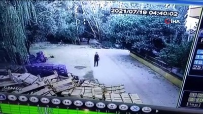 Cezaevinden kaçtı ilçeyi soyup soğana çevirmeden yakalandı