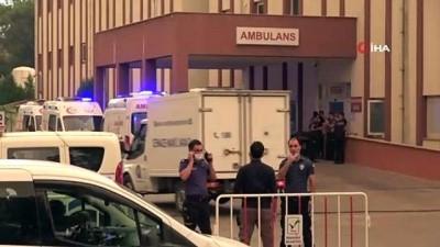 112 acil servis -  Manavgat Devlet Hastanesi'ndeki 10 entübe hasta tedbir amaçlı sevk edildi