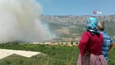 cevik kuvvet -  Mersin'in 2 ilçesindeki yangınlar sürüyor