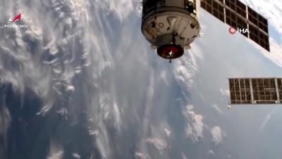 uzay istasyonu -  - Rusya'nın Nauka modülü uluslararası uzay istasyonuna kenetlendi
