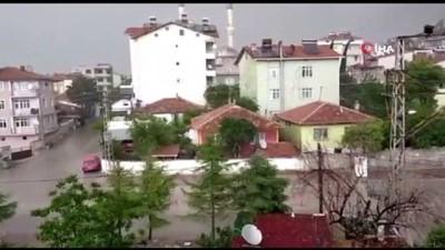 yumurta -  Amasya'da yumurta büyüklüğünde dolu yağdı Videosu