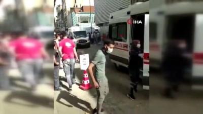 Başkent'te ambalaj imalathanesinde patlama: 2 yaralı