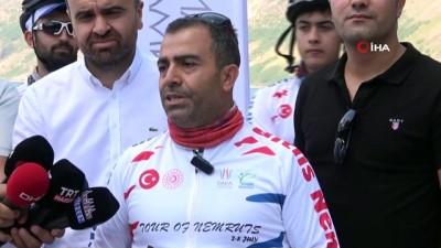 bisiklet turu -  Bitlis Nemrut'tan, Adıyaman Nemrut'a bisiklet turu