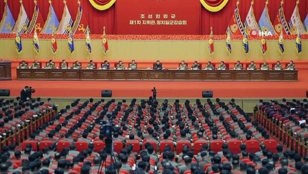 tatbikat -  - Kuzey Kore lideri Kim'den 'düşmana karşı hazırlıkları tamamlayın' çağrısı