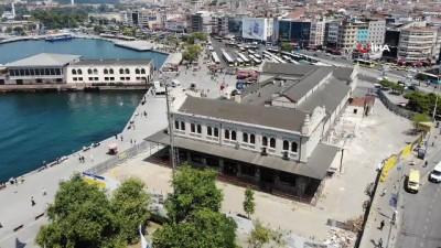 restorasyon -  - Tarihi Kadıköy Hal Binası'nda tepki çeken restorasyon çalışması
