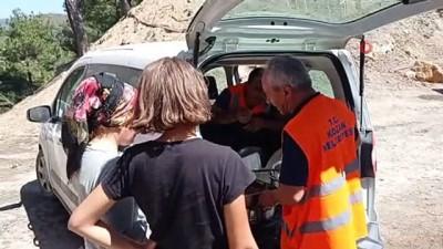 buyuksehir belediyesi -  Yangın bölgesinde yaralar sarılmaya çalışılıyor