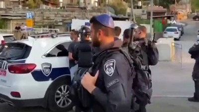 protesto -  - İsrail güçleri, Şeyh Cerrah'ta Filistinlilere saldırdı