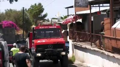 askeri personel -  - KKTC'de ormanlık alanda çıkan yangın kontrol altına alındı Videosu
